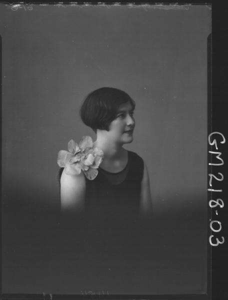 Portrait of woman 'Mumme'