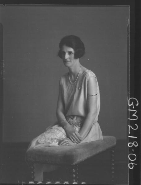 Portrait of woman  'Kerr'