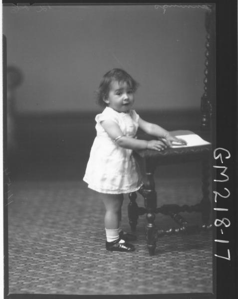 Portrait of child 'Jennings'