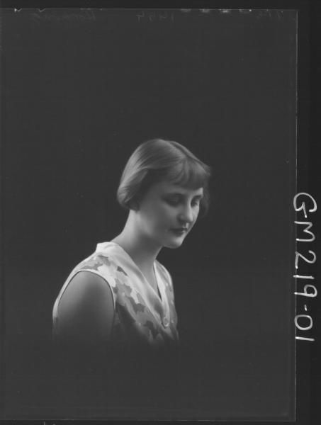 Portrait of woman 'Hocking'