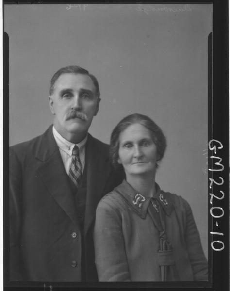 Portrait of man and woman 'Duirbridge'