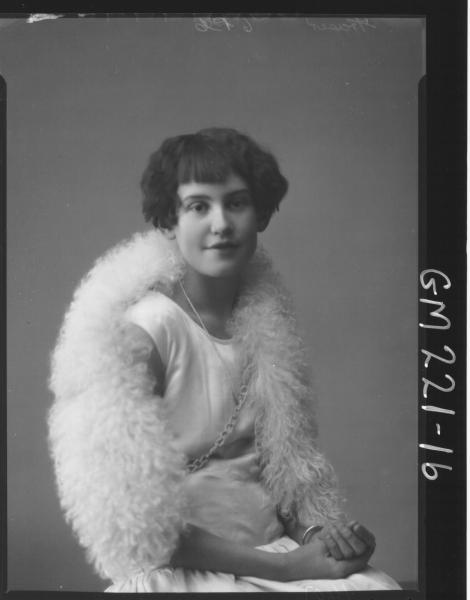 Portrait of woman 'Fraser'