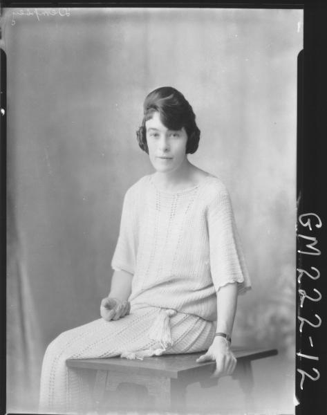 Portrait of woman  'Dempsey'