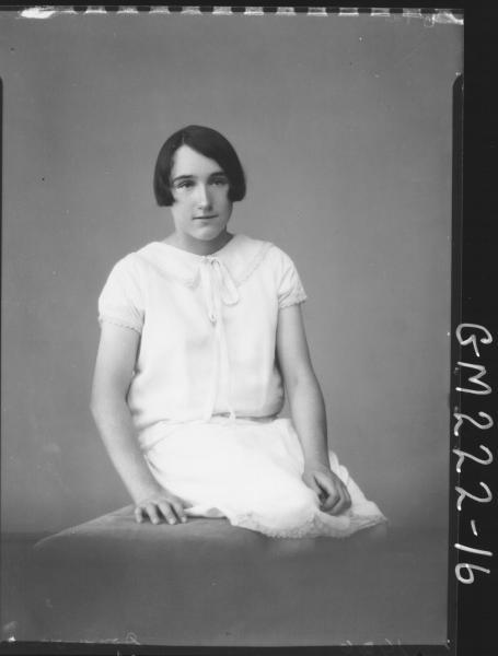 Portrait of woman 'Donovan'