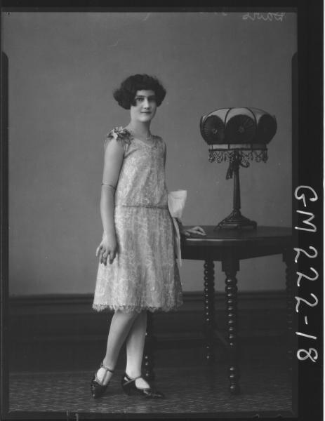 Portrait of woman 'Davis'