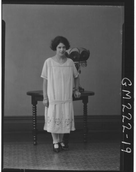 Portrait of woman 'Dench'
