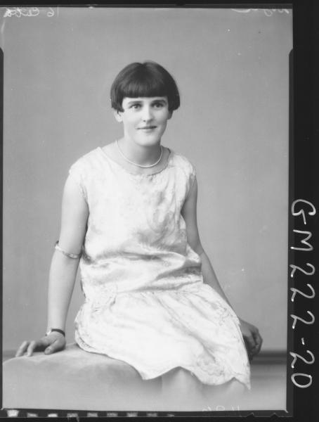 Portrait of woman 'Doyle'