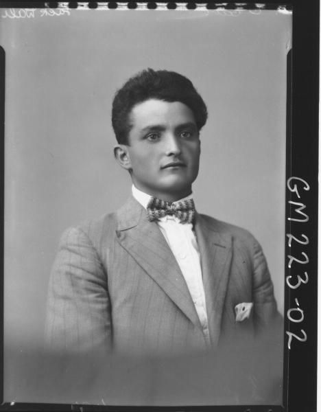 Portrait of man Jack 'Dali'
