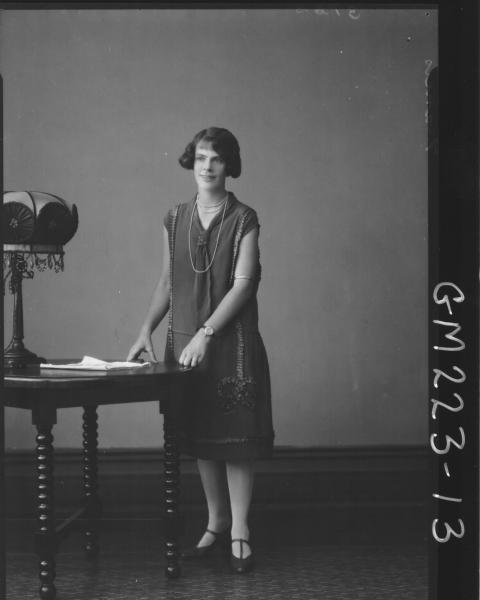 Portrait of woman 'Francis'