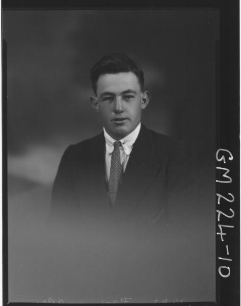 Portrait of man 'Fox'