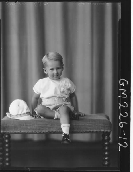 Portrait of child 'Edwards'