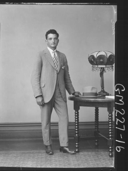 Portrait of man 'Della'