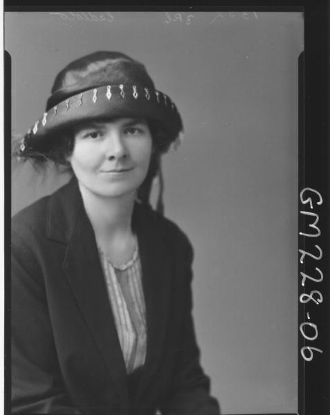 Portrait of woman 'Cadlolo'
