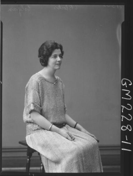 Portrait of woman 'Colgan'