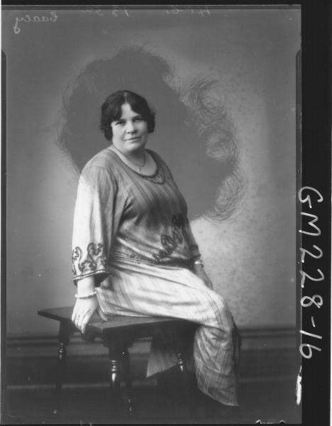 Portrait of woman 'Caacy'
