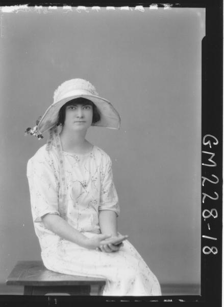 Portrait of woman 'Carter'