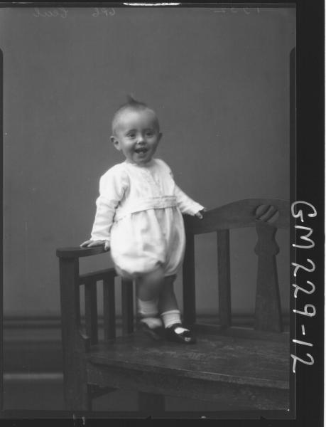 Portrait of baby 'Cecil'