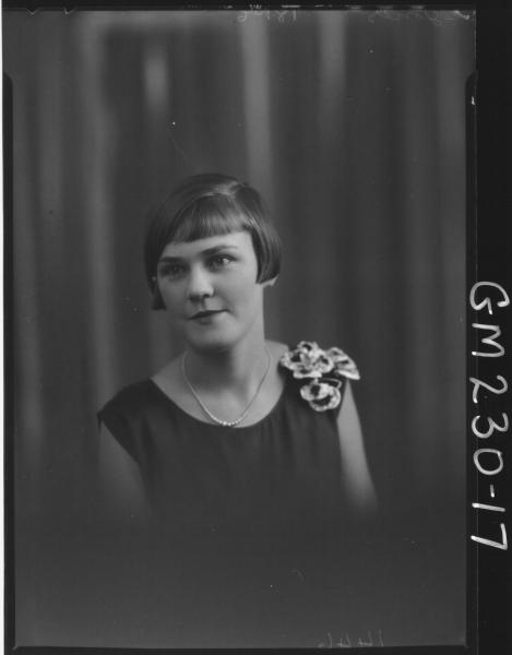 Portrait of woman 'Jones'