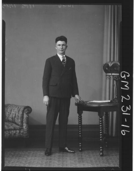 Portrait of man 'Hamilton'