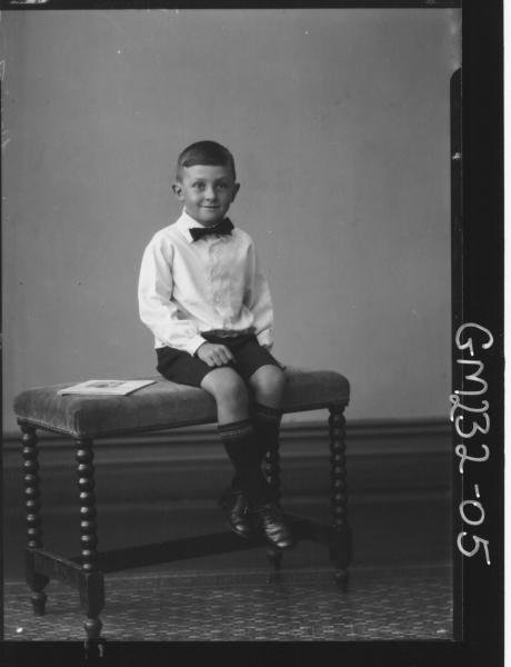 Portrait of boy 'Hewitt'