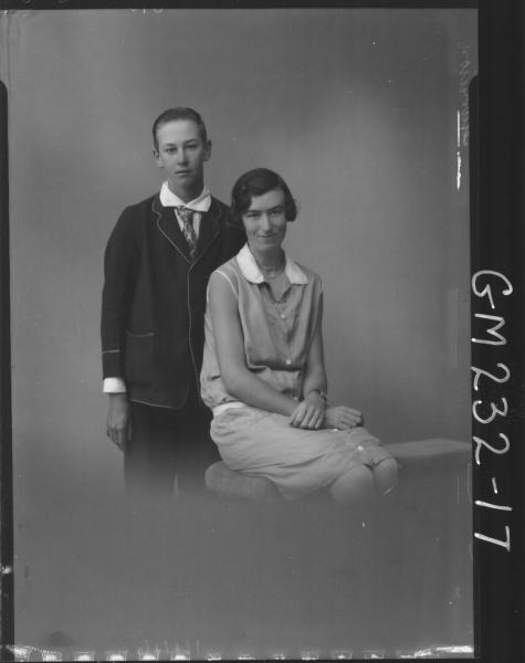 Portrait of boy and girl 'Harrison'