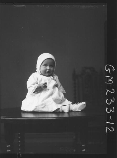 Portrait of baby 'Scott'