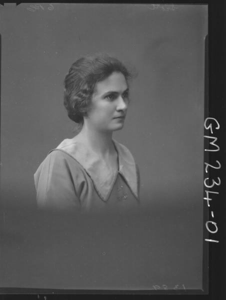 Portrait of woman 'Scott'