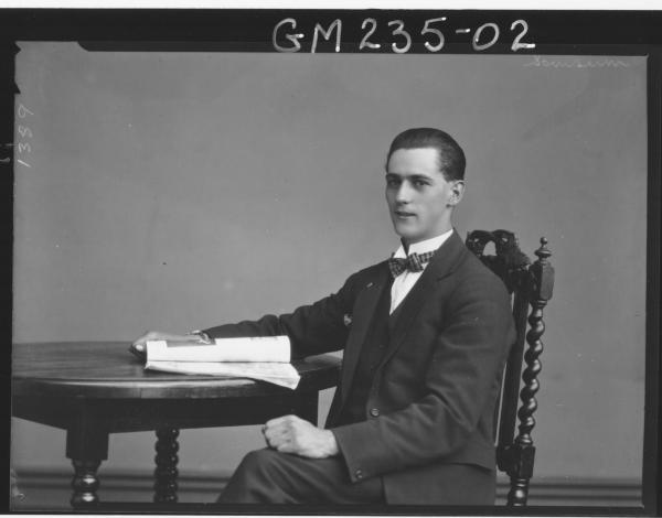 Portrait of man 'Sansum'