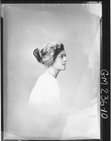 Portrait of woman 'Lyons'