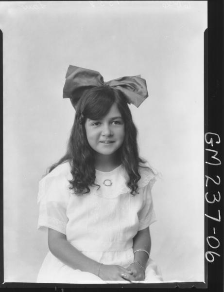 Portrait of girl 'Law'