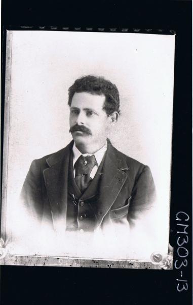 H/S Portrait of man wearing suit (copy) 'Snowden'