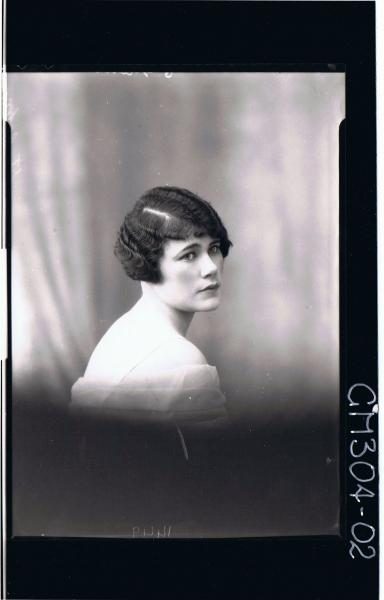 H/S Portrait of woman, (side view) 'St. John'