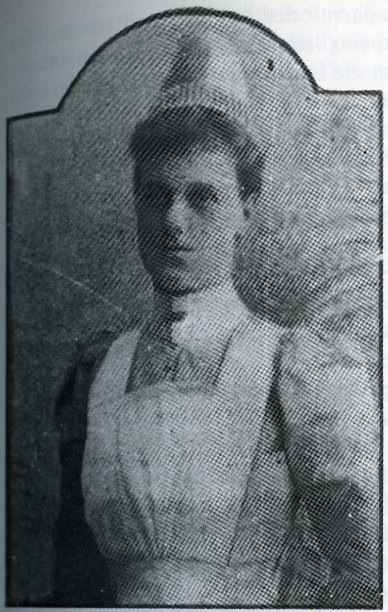 Matron Bessie Way, 1890s