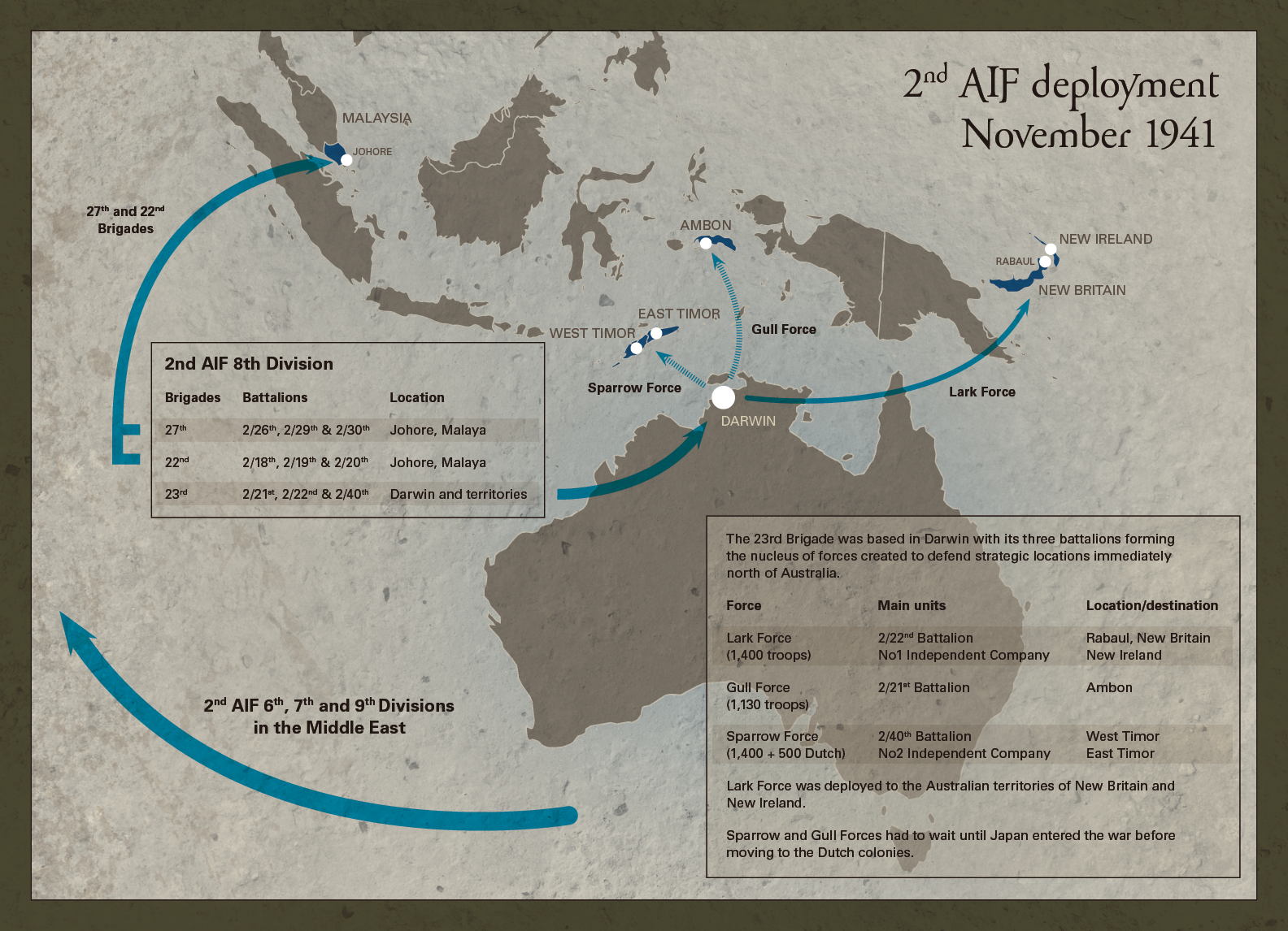 Map Of Western Australia 26th Parallel.The War Begins Watching Our Own Backyard Western Australian Museum