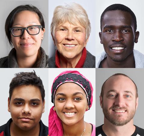 Western Australian Faces