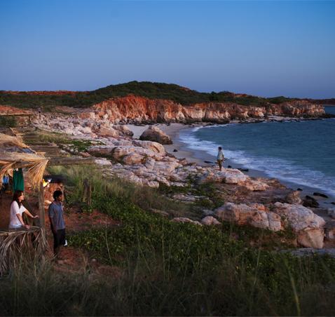 Western Australian shoreline
