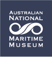 Australian National Maritime Museum logo.