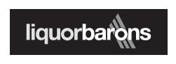 Liquor Barons logo.