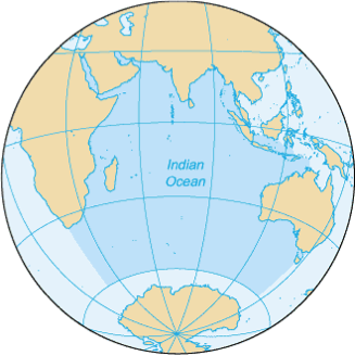 Extent of the Indian Ocean