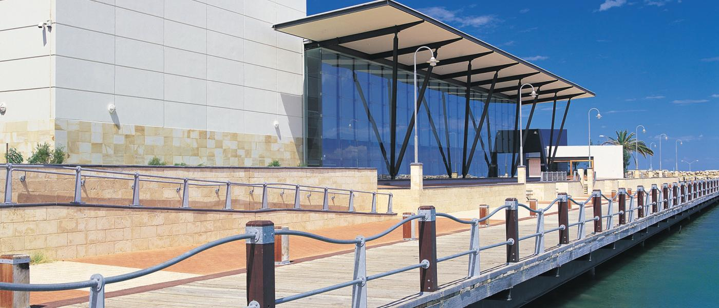 Exterior of the Museum of Geraldton