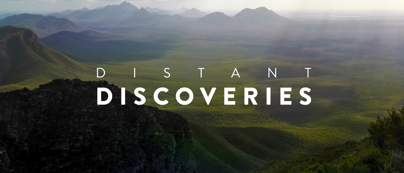 Distant Discoveries - Museum of the Great Southern - landscape with hills