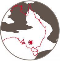 Southern Australia 110 million years ago