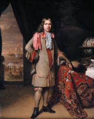Portrait thought to be Willem de Vlamingh, by Johannes en Nicholaas Verkolje