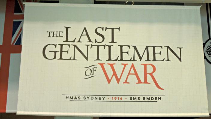 Banner showing Last Gentlemen of War text