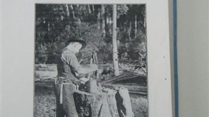 Image of a Prospector hand dollying