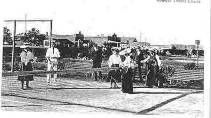 Tennis in Boulder, c.1900