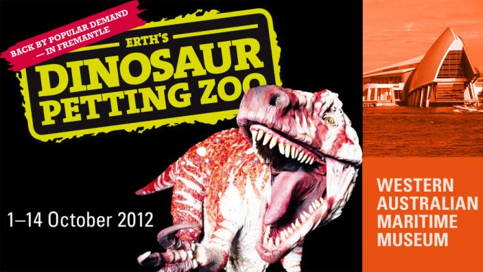 Erth Dinosaur Petting Zoo