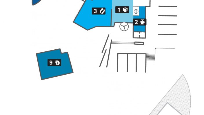 Site Map for the WA Maritime Museum