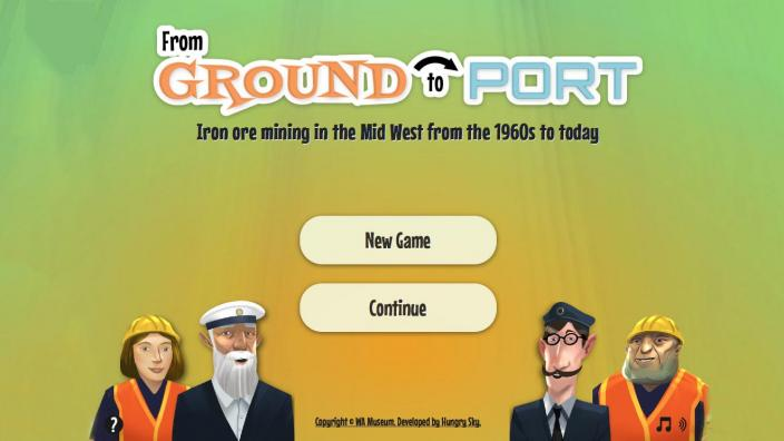 ground to port interactive game
