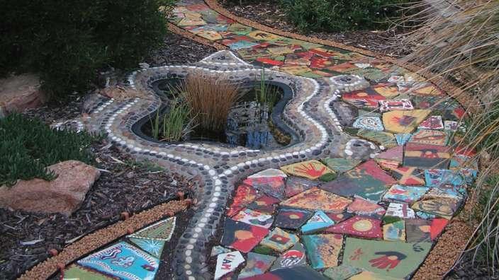 Bush tucker garden at WA Museum Albany